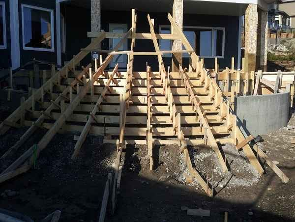 Concrete Stairs Vancouver BC