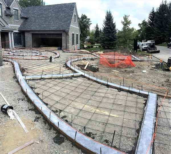 Mid Built Driveway in Vancouver