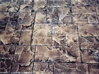Blocks of Concrete on Floor
