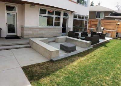 Out Door Concrete Furniture
