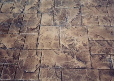 Stamped Concrete in Pattern