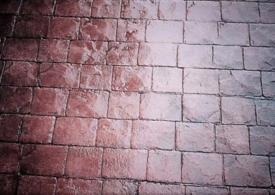 Cobble Stone Stamped Concrete