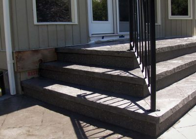 Concrete Stairs and Floor