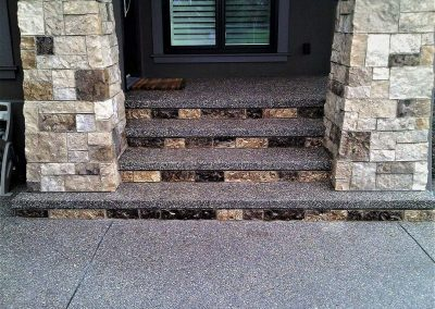 Five exact even stairs