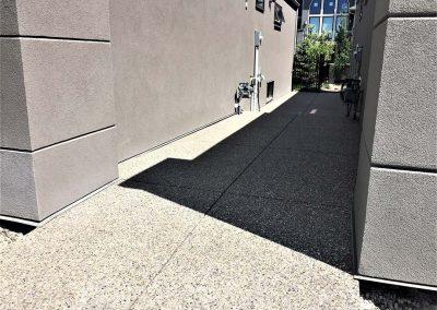 Concrete Walkway beside Building
