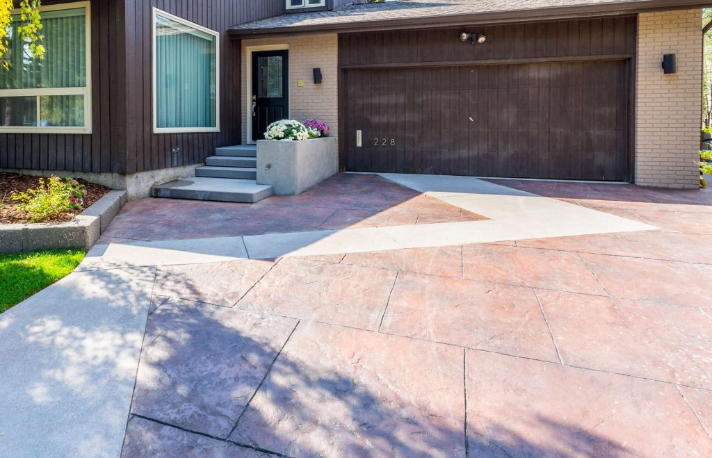 Stamped Concrete Contractors Burnaby