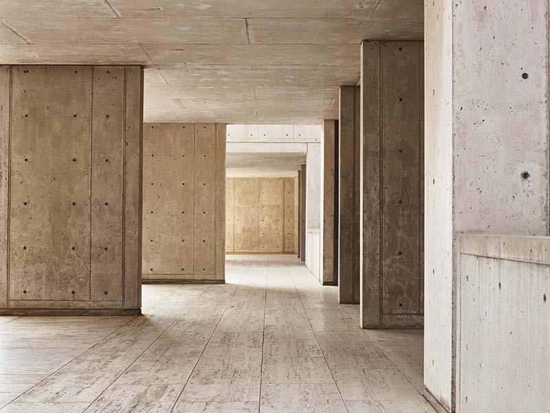 Sunlight on Concrete Walls