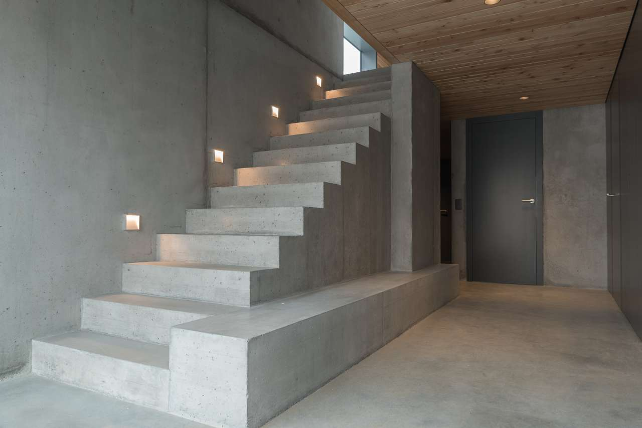 Concrete Stairs West Vancouver