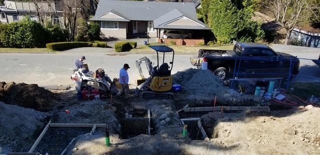 Construction Men Working