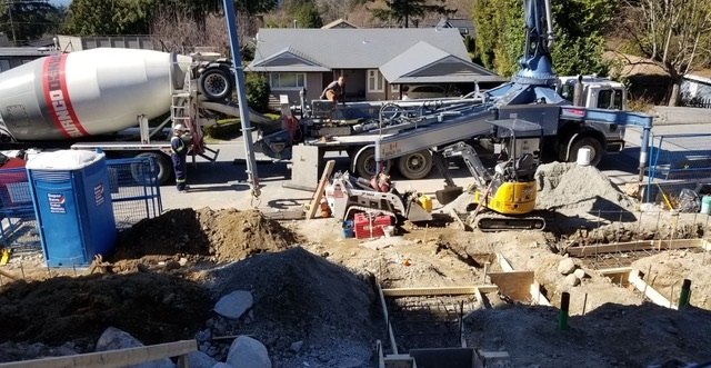 Construction Machines at Work