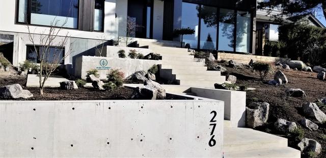 North Vancouver Concrete Steps