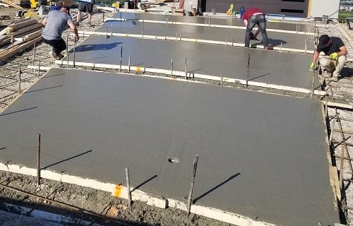 Freshly Poured Concrete