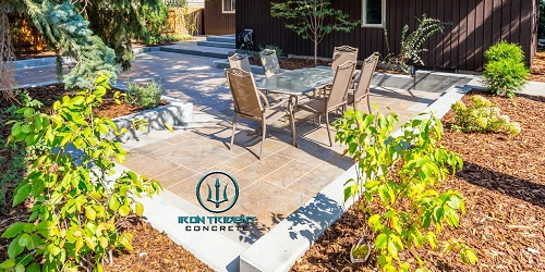 North Vancouver Stamped Concrete