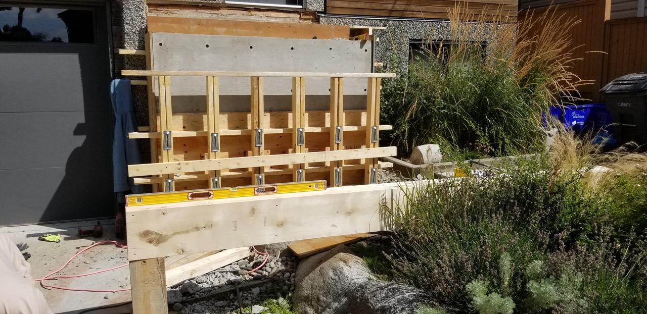 Rebar Piles and Footings