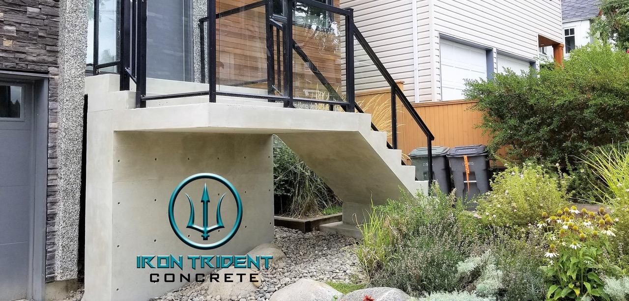 Nice Concrete Steps