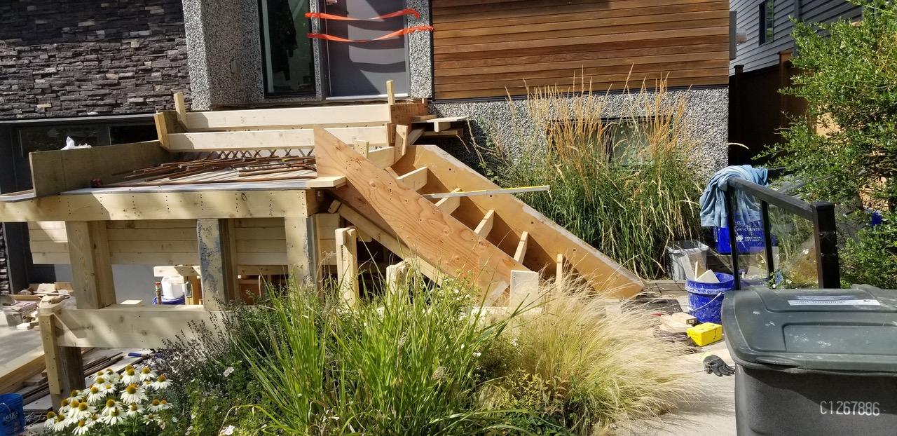 Rebar Concrete Steps