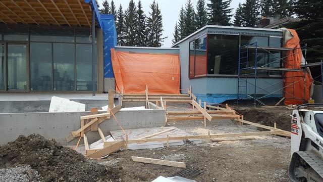 Concrete Steps and Landings Construction