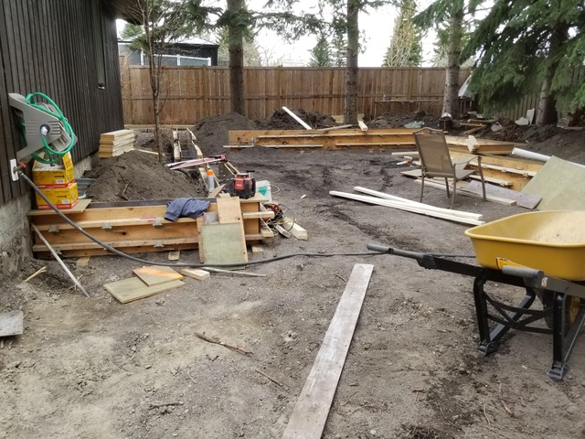 Yard Under Construction