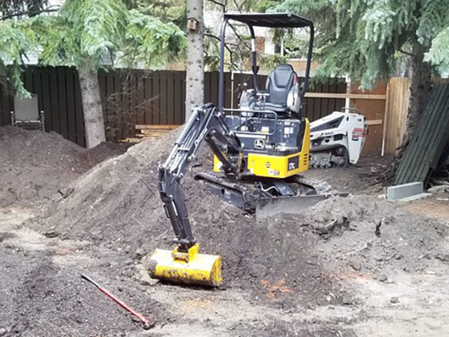 Backyard Excavation