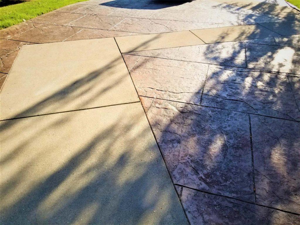 Stamped Concrete Contractor North Vancouver